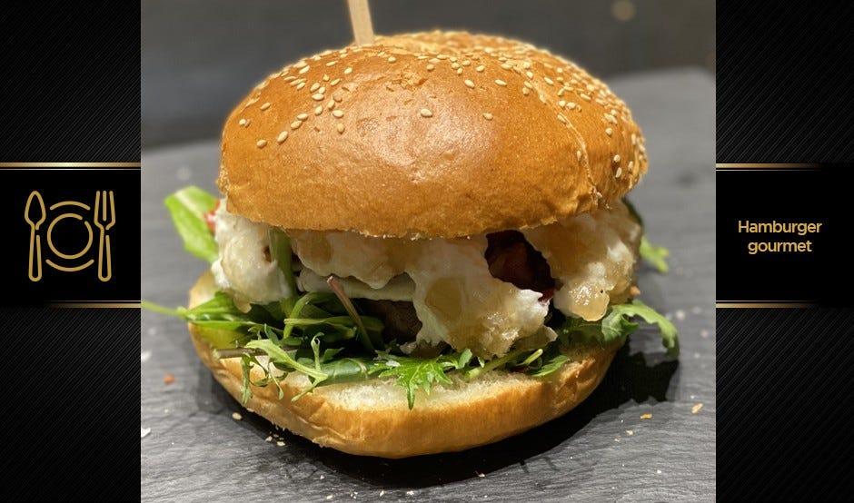 L'hamburger gourmet di Longino