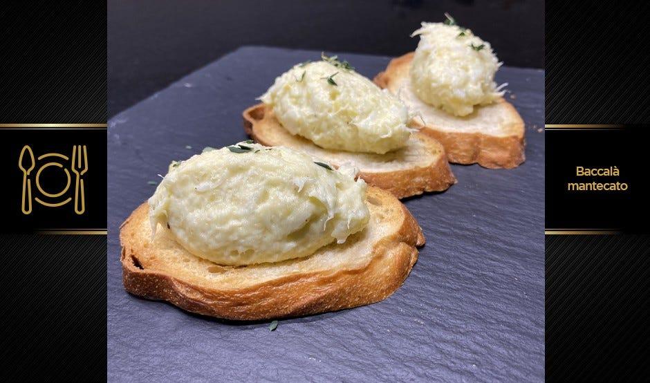Baccalà mantecato gourmet