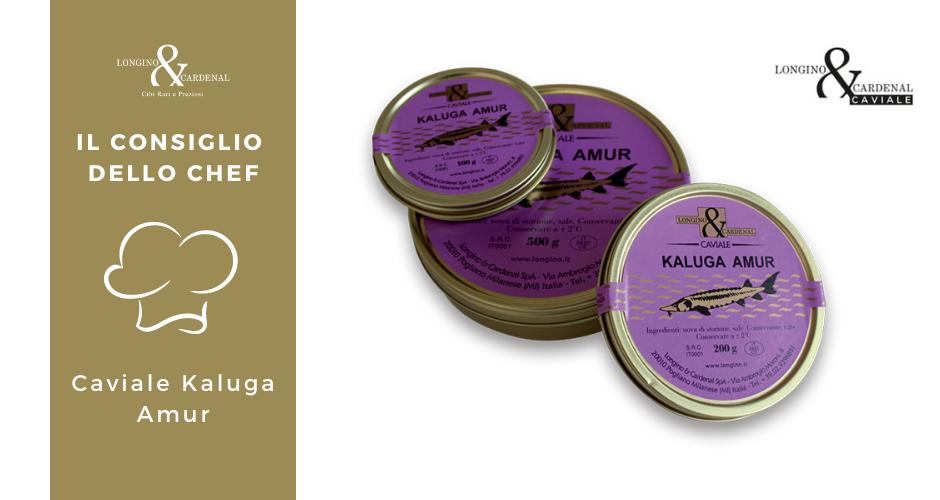 Il caviale Kaluga Amur