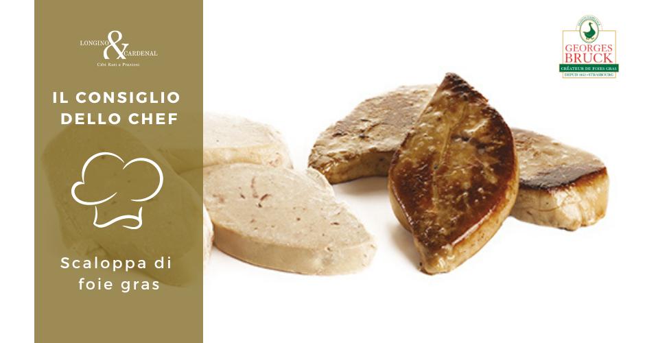 Come si cucina la scaloppa di foie gras?