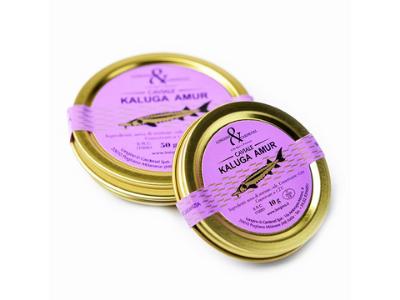 Caviale Kaluga amur